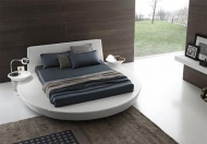 Presotto Modern Upholstered Zero Bed