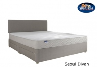 Silentnight Select Seoul Miracoil Memory Divan Bed