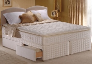 Sealy Posturepedic Gold Collection Summer Solstice Divan Bed Set - Discontinued