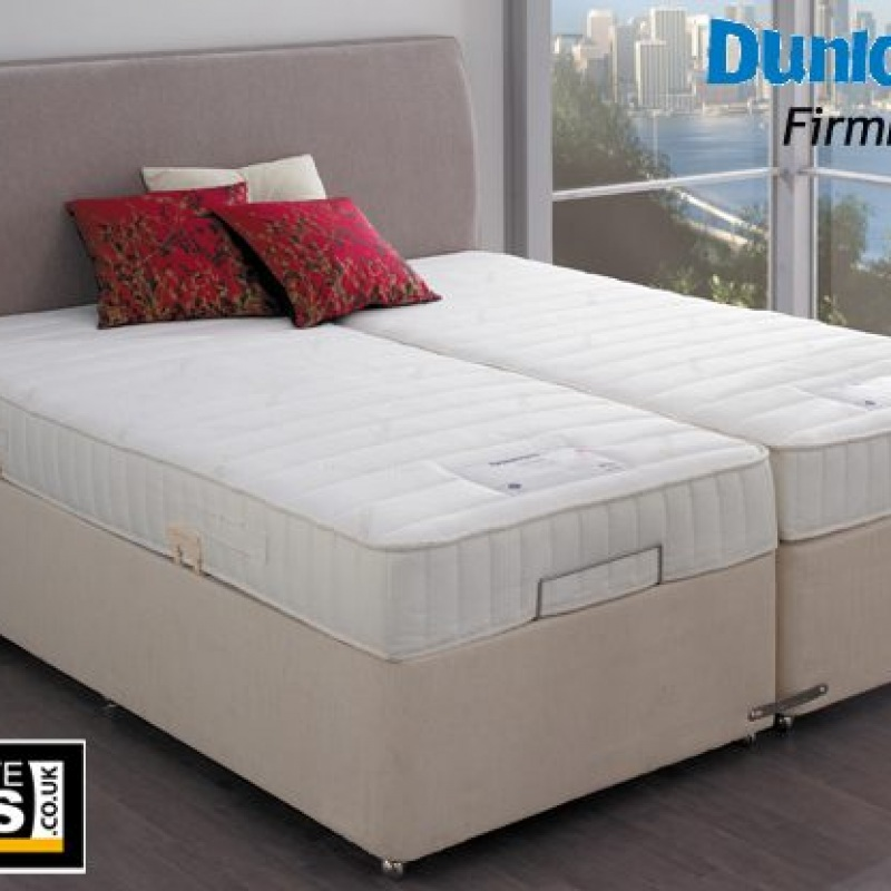 Colchones De Latex Natural Dunlopillo.Dunlopillo Firmrest Latex 5ft King Size Divan Bed Set Only Headboard